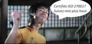 La technique de combat ISO 27001
